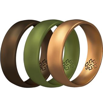 Woodland 3-pack Breathable Silicone Ring