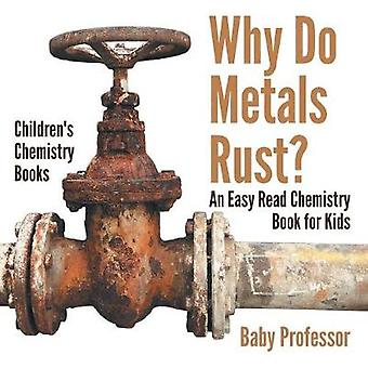 Why Do Metals Rust? An Easy Read Chemistry Book for Kids Children's C