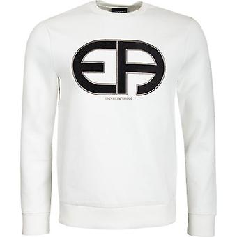 Emporio Armani Large Logo Crew Neck Sweater