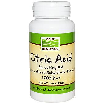 Now Foods Citric Acid 113 g