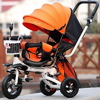 3 In 1 Foldable Tricycle Bike Baby Carriage Trolley