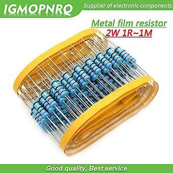 Metal Film Resistor  2w 1r - 1m (75k)