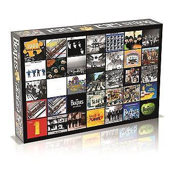 Beatles Puzzle - Colagem de Álbuns