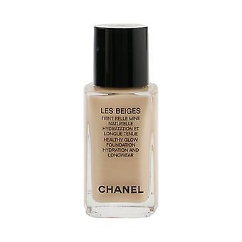 Chanel Les Beiges Teint Belle Mine Naturelle Healthy Glow Hydration And Longwear Foundation - # BR32 30ml/1oz