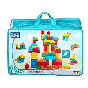 Mega Bloks First Builders Deluxe Building Construction Bag with 150 Colours