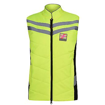 Equisafety Womens Gilet Full Zip Sleeveless High Neck Equestrian Vest Top