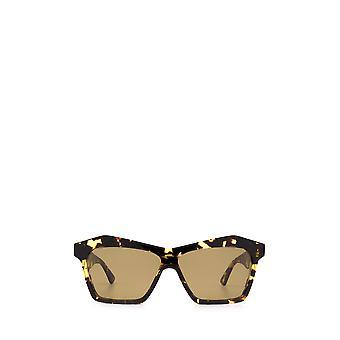 Bottega Veneta BV1093S havana unissex óculos de sol