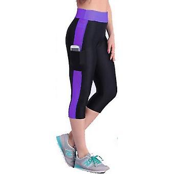 Naiset juoksevat sukkahousut elastiset urheiluhousut