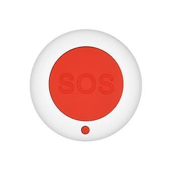 eWeLinkワイヤレスリモートコールボタンSOS /緊急ボタン433MHzケアギバーポケットベルベッド/椅子/床マット秋のアラーム患者高齢者障害者プレスヘルプ介護者/看護師警報システムホーム安全警報システム