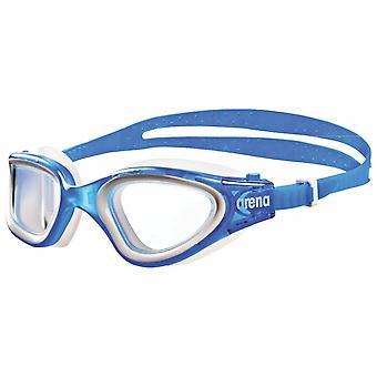 Arena föreställ dig elegant form simning skyddsglasögon stora linser för optimal syn