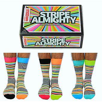 United Oddsocks Novelty Striped Socks