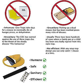Flip N Slide Bucket Lid Mouse Rat Trap 10991