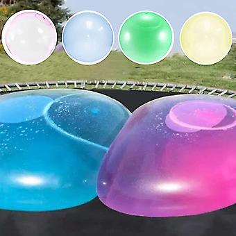 Beach Pool Party Inflatable Water Ball Soft Rubber Ball Large