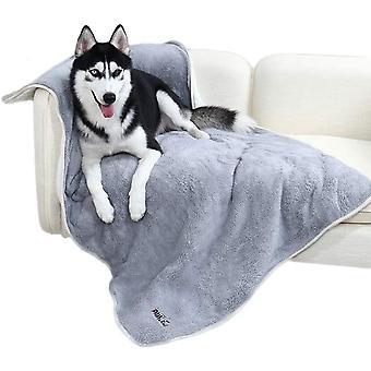 Weiches wärmt Haustier Hundedecke Hundematte Waschbar Doppelschicht Plüsch Dicke Decke Perfekt für