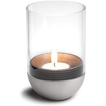 - Gravity Candle M90 - Windlicht und Teelichthalter - hält Kerze waagerecht - bequemes Anzünden und