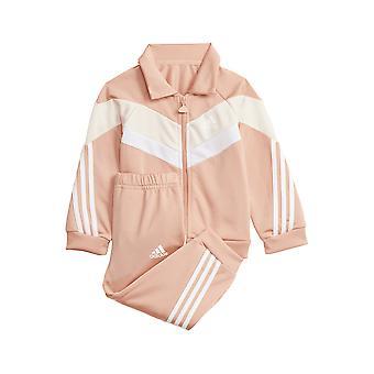 Adidas Infant Future -kuvakkeet Kiiltävä raidallinen puku