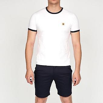 Gabicci Ringer T-Shirt - White