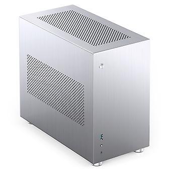 Jonsbo V10 Mini-ITX Case - Silver