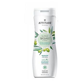 Attitude Natural Shower Gel, Nourishing 16 Oz