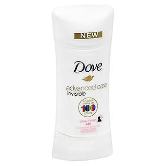 Dove Dove Advanced Care Anti-Perspirant Solid Invisible, 2.6 Oz