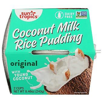 Sun Tropics Pddng Rice Coconut Milk, Case of 6 X 8.46 Oz