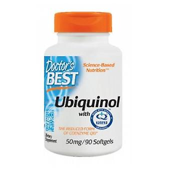 Doctors Best Ubiquinol with Kaneka's QH 50 mg, 90 soft gels