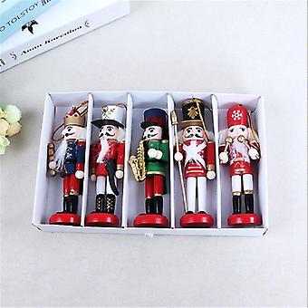 装飾木製くるみ割り人形兵士クリスマスホーム