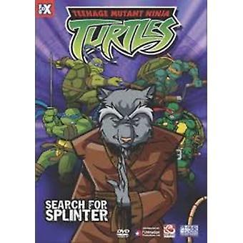 Teenage Mutant Ninja Turtles: Search for Splinter [DVD] USA import