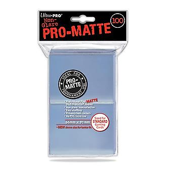 Ultra Pro Pro Matte Clear Standard Deck Protektoren (100 Ärmel)