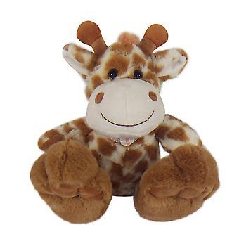 20cm plysch sittande giraff mjuk leksak