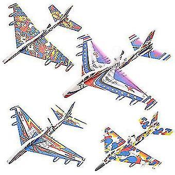 Tilfældig farve lysende opladning flymodel legetøj (O16)
