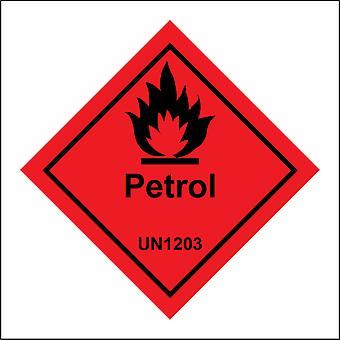 HA108 Petrol Un1203 Sign with Fire