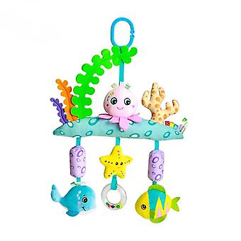 Toys for children and infants simulation animal shape lathe hanging bed bell baby wind chimes