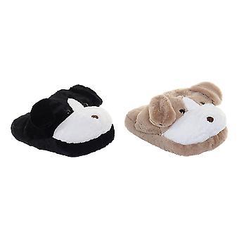 Foot warmer DKD Home Decor Brown (2 pcs)