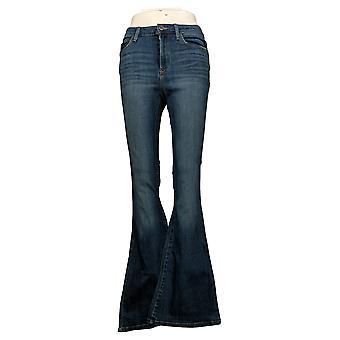 SkinnyGirl Women's Jeans High Rise Flare Blue 681119