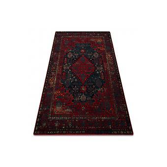 Wool rug OMEGA HARUN navy blue
