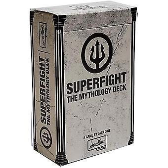 Superfight The Mythology Deck : 100 fler kort för spelet av absurda argument, för barn, tonåringar och vuxna 3 eller fler spelare, 8 år och uppåt