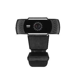 Hr015 1080p Hd Usb Webcam Conference Live Broadcast Computer Camera Built-in Noise Reduction Microphone Suitable For Pc Laptop
