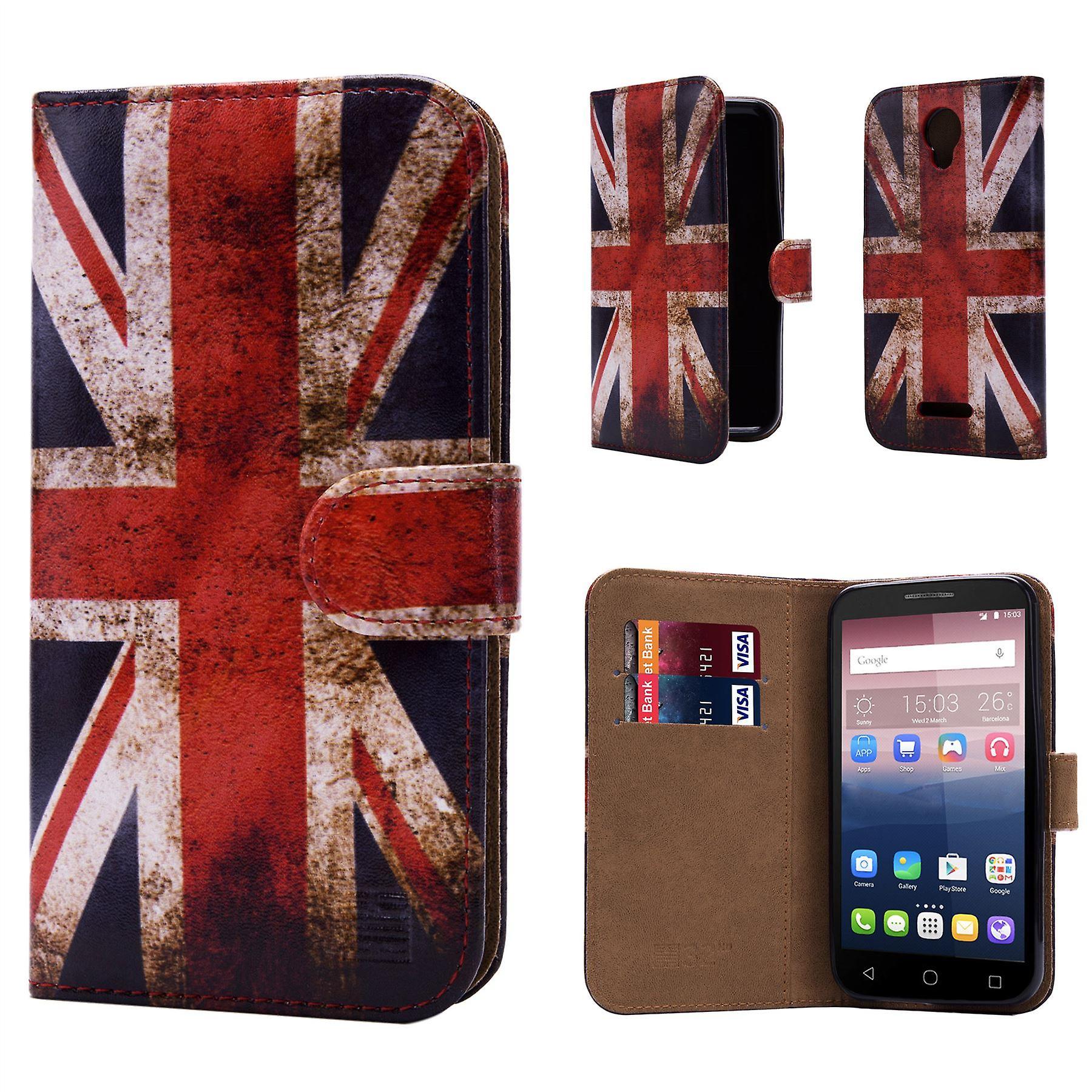 Design book for Alcatel Pixi 4 (5.0) 4G OT-5045 - Union Jack