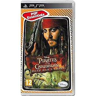 Pirates Of The Caribbean Dead Mans brystet Essentials Edition Sony PSP spil