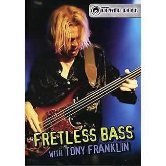 Tony Franklin - Fretless Bass [DVD] USA import