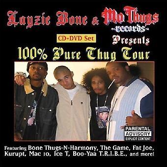 Layzie Bone Presents - 100 % USA Tour Thug [CD] import