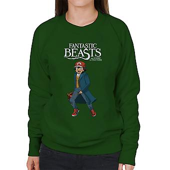 Fantastic Beasts Ash Pokemon Women's Sweatshirt
