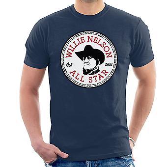Willie Nelson All-Star Herren T-Shirt zu unterhalten
