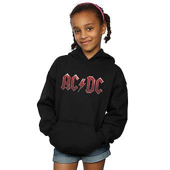 AC/DC Girls Red Ice Logo Hoodie