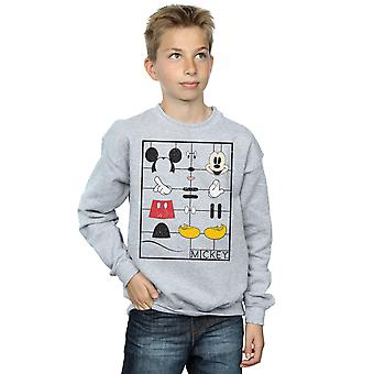 Disney gutter Mikke Mus Construction Kit Sweatshirt
