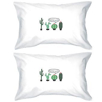 刺す綿枕カバー クイーン サイズおかしいギフトはいけない