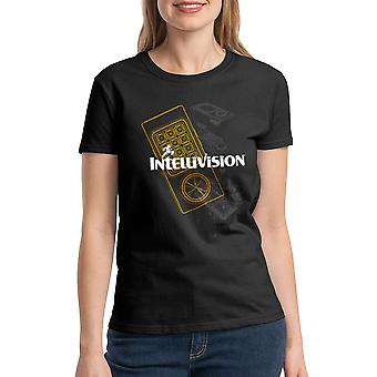 Intellivision Controller Women's Black T-shirt