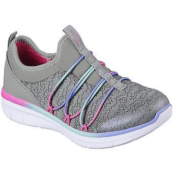 Skechers meisjes synergie 2.0 gewoon chique Slip op atletische Trainers schoenen
