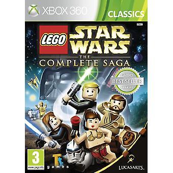 LEGO Star Wars The Complete Saga (Xbox 360) - New